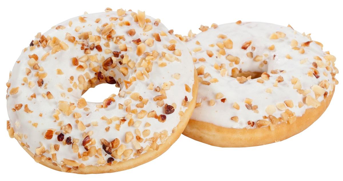 Donuts gefüllt mit Vanille 2er