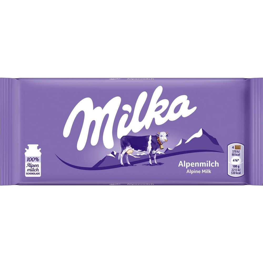 Tafelschokolade, Alpenmilch