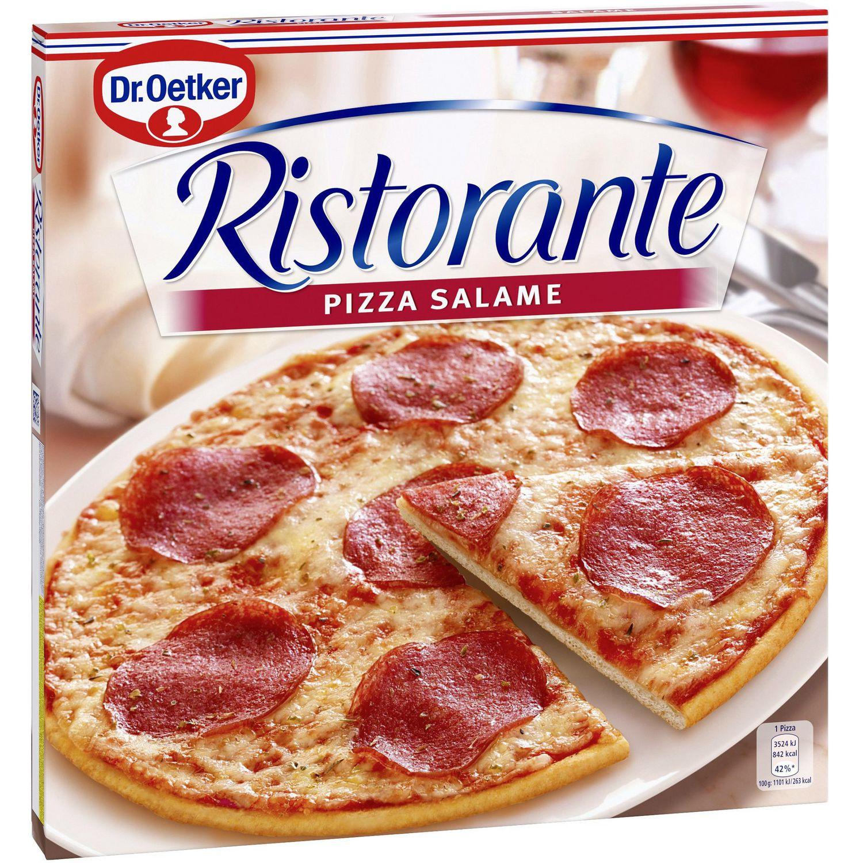 "Pizza ""Ristorante"" Salame, tiefgekühlt"