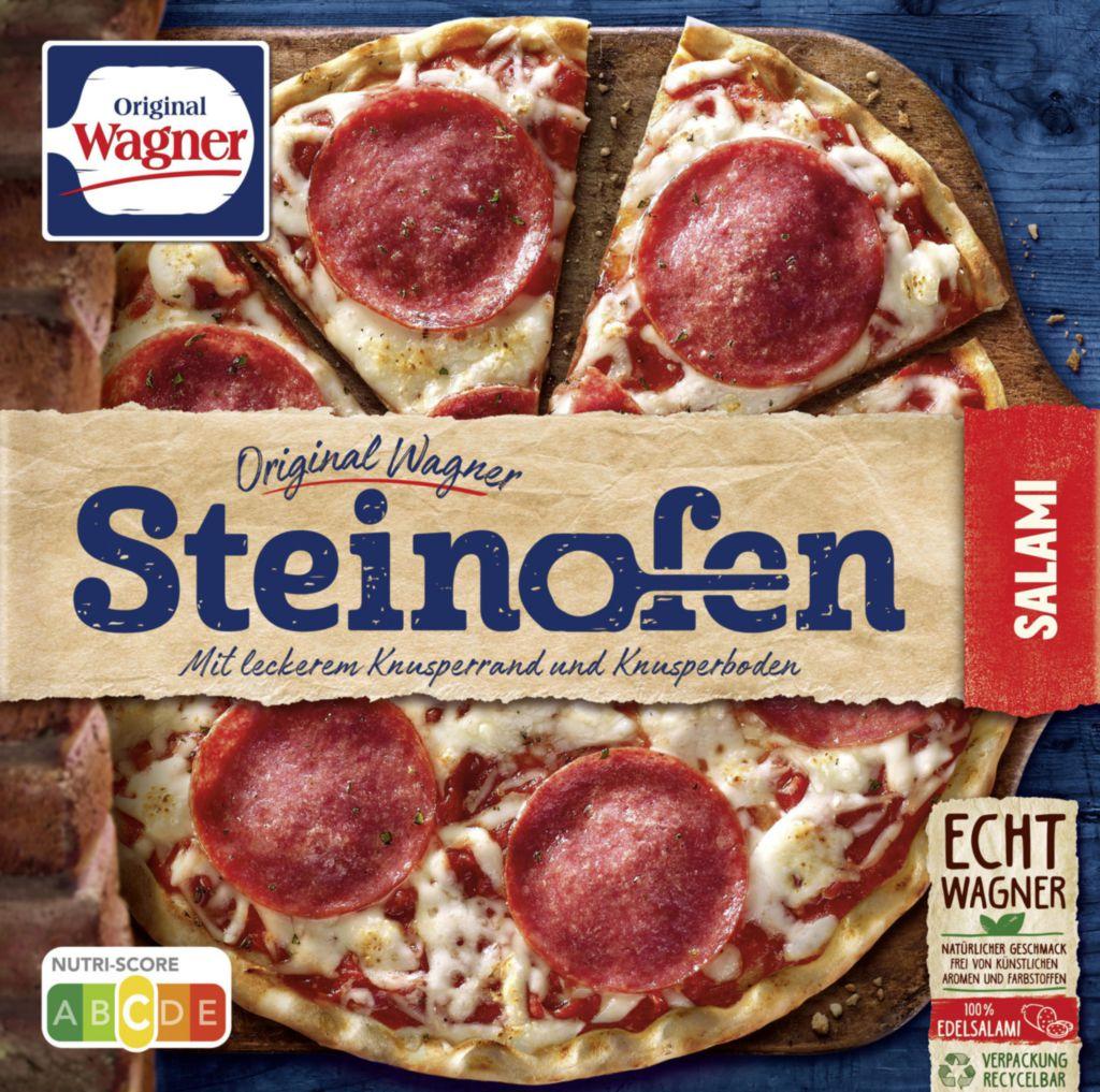 """Steinofen Pizza """"Salami"""", tiefgekühlt"""